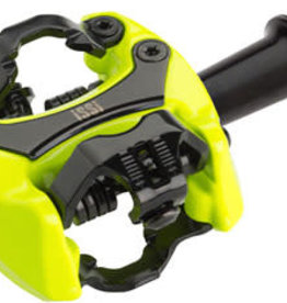 "iSSi Flash II Pedals - Dual Sided Clipless, Aluminum, 9/16"", Yellow"