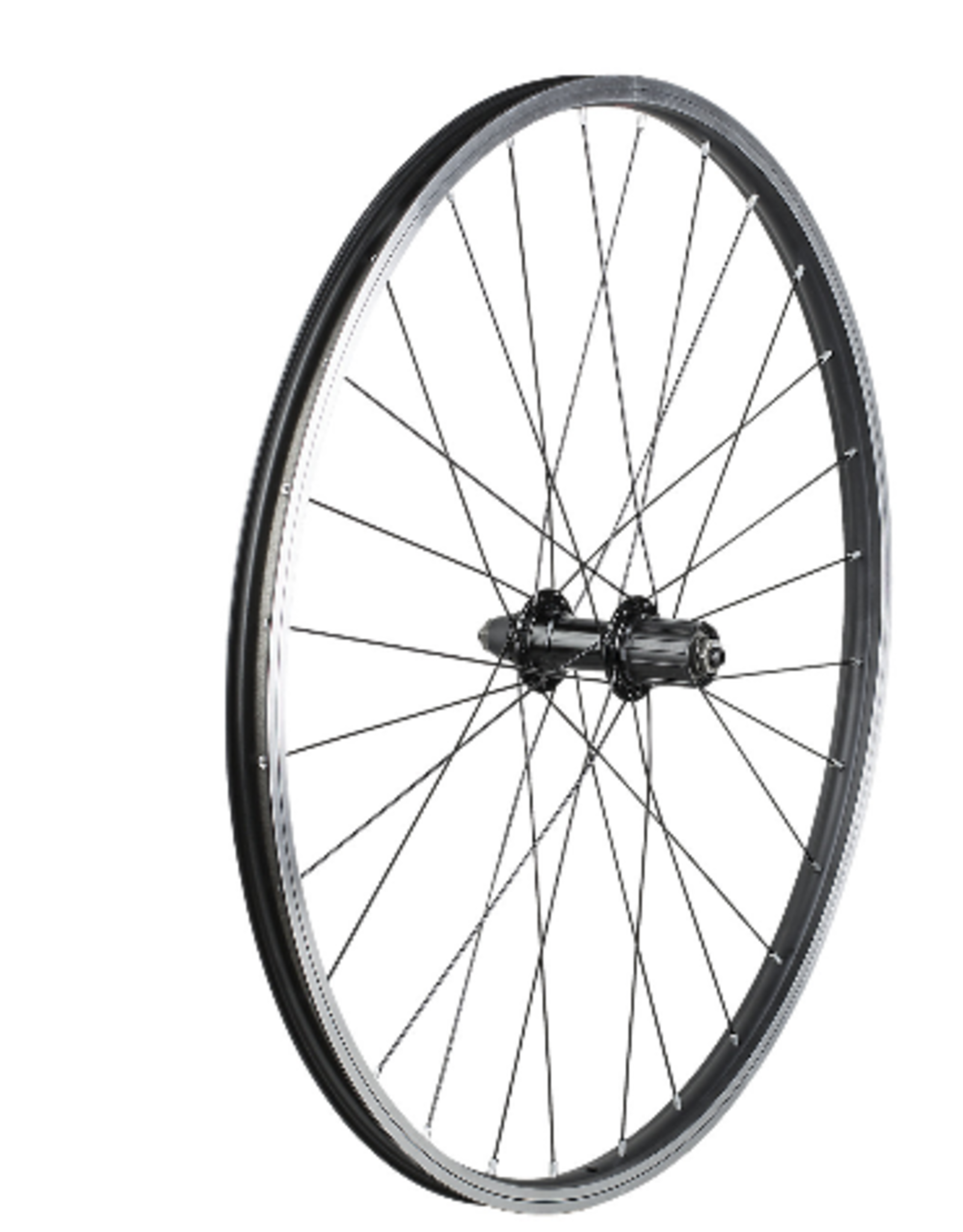 trek Trek Black Rim Brake 26 28H Single Wall QR 8-Speed Rear Wheel