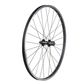 trek Trek Black Rim Brake 26 28H Single Wall QR 8-Speed Rear Wheel