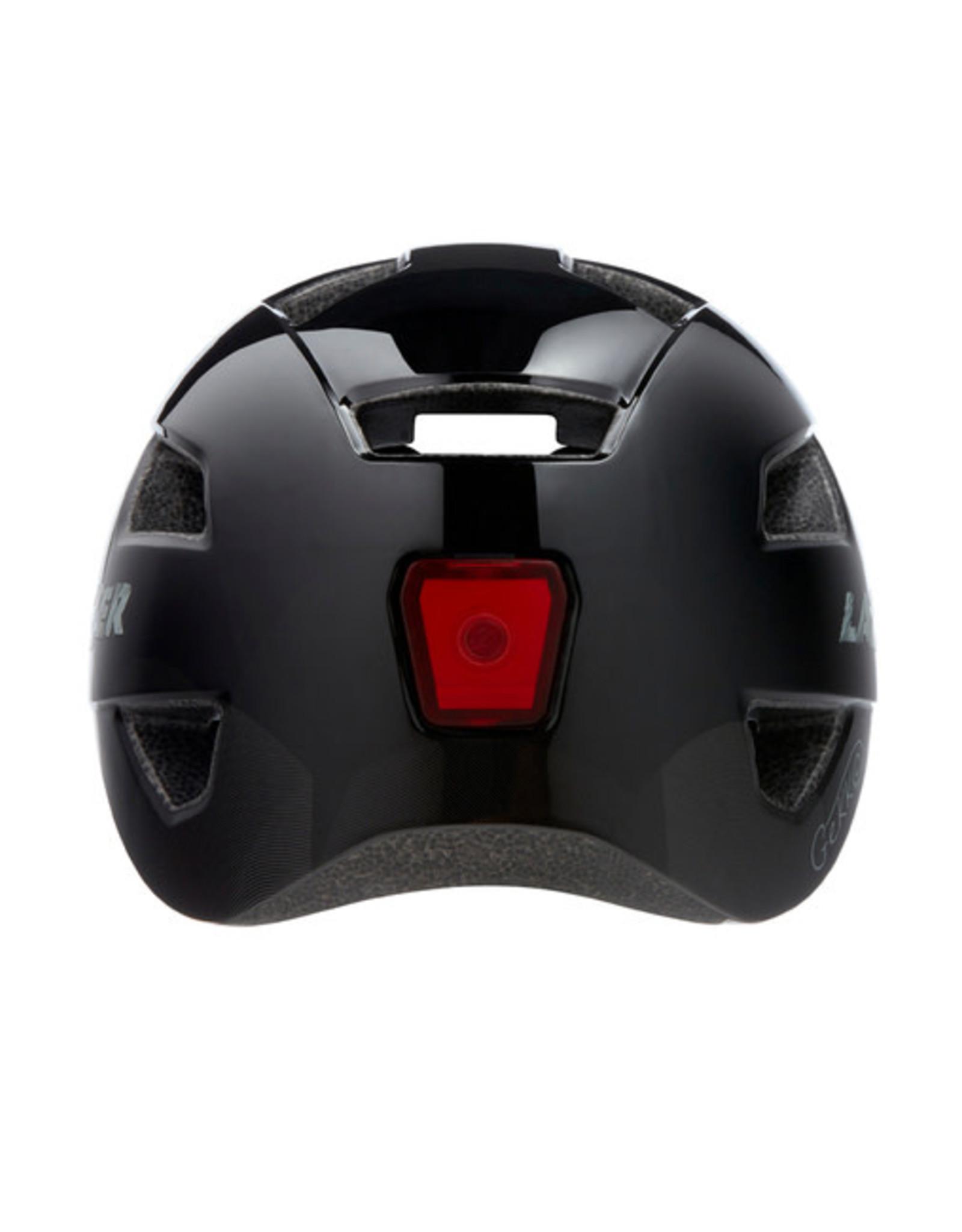 Lazer Lazer Gekko Youth Uni-Size 50-56cm Black Helmet w/ Rechargeable Rear Light