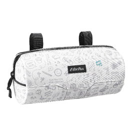 Electra Electra Cylinder Handlebar Bag Doodle White Bag