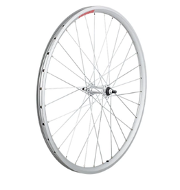 Wheel Front Sta-Tru 26 32H Tubeless Ready Bolt-On Silver