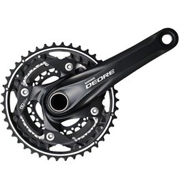 Shimano Shimano Deore M610 10-Speed 175mm 24/32/42t Crankset, Black, with Bottom Bracket
