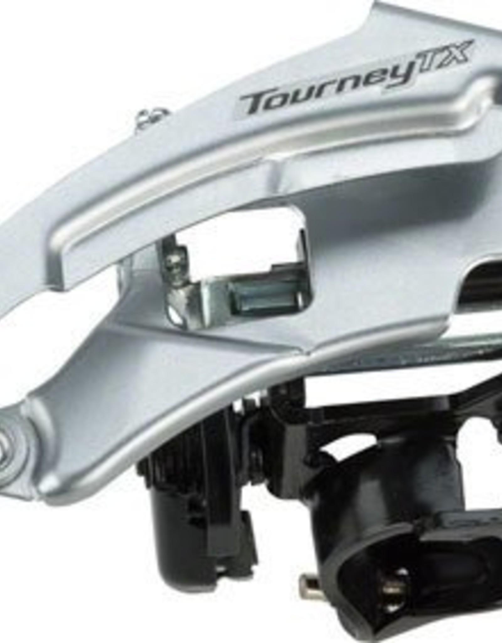 Shimano Shimano Tourney TX800 7/8-Speed Triple Top-Swing Dual-Pull Front Derailleur
