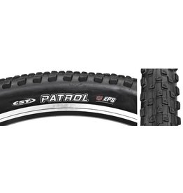 CST Patrol Tire 29 x 2.25 Single Compound, 27tpi, Steel Bead, Black