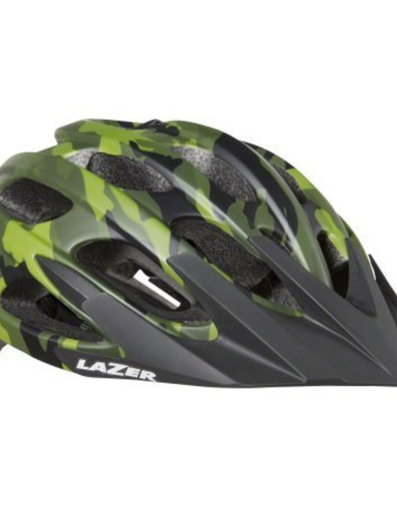 Lazer Lazer Magma Helmet: Matte Camo Flash Orange, LG