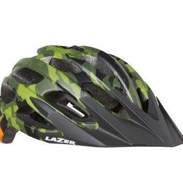 Lazer Lazer Magma Helmet: Matte Camo Flash Orange, LG