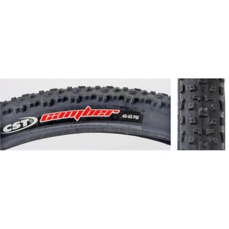 CST Camber Comp MTB Tire: 26x2.25 Steel Bead Black