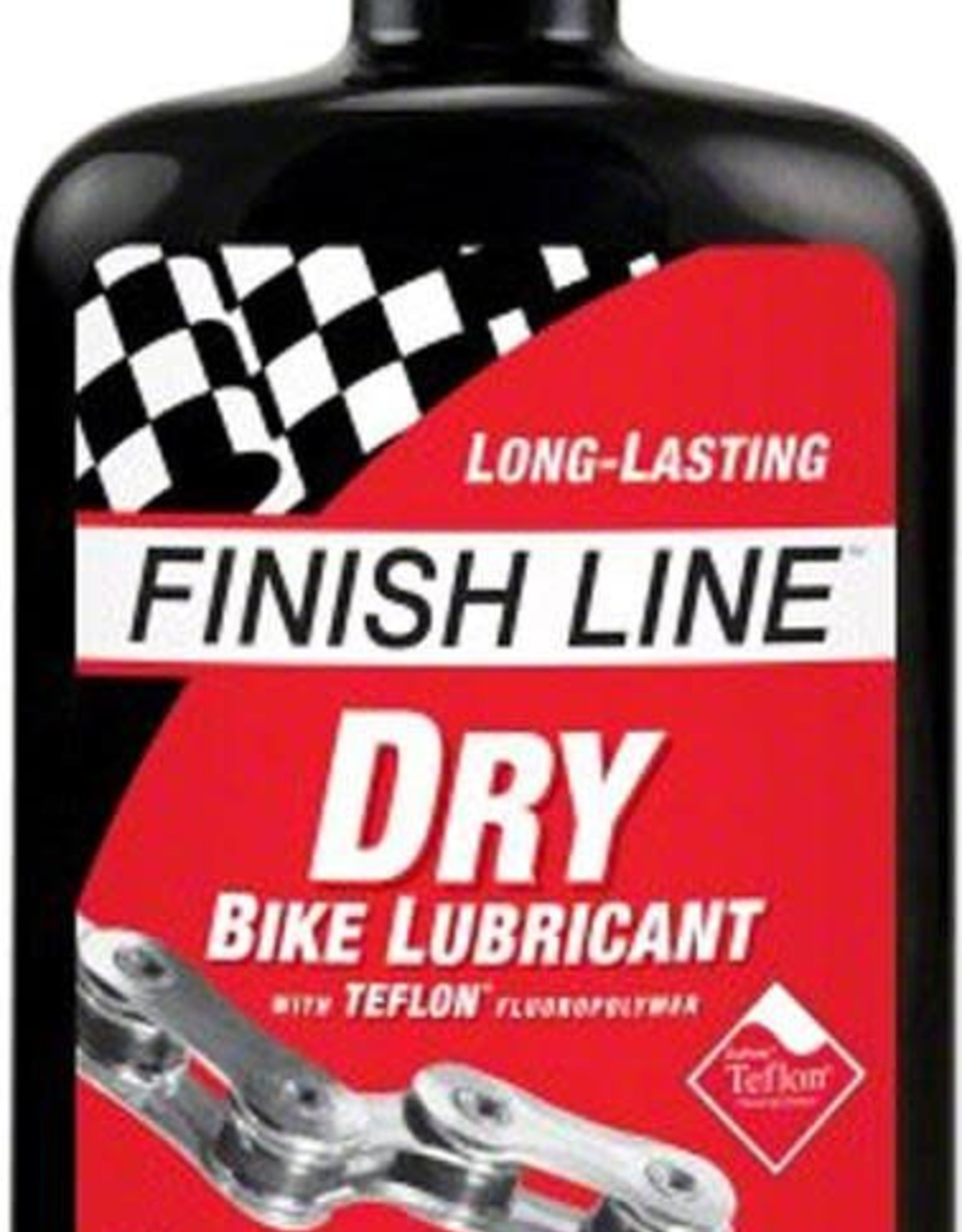 Finish Line Dry Lube with Teflon, Red/Black 118mL (4oz), Drip
