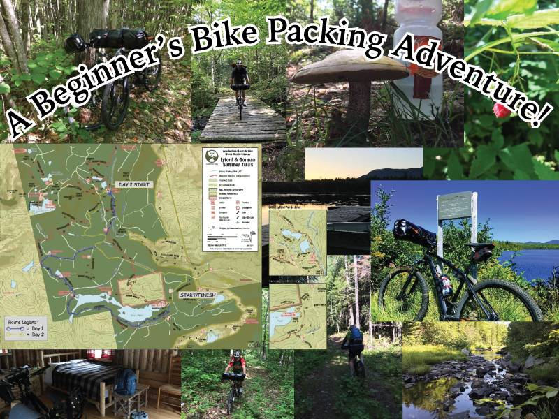 A Beginner's Hut-to-Hut Bike Packing Adventure in Maine!
