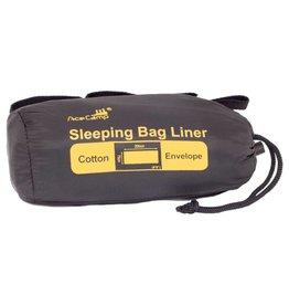 Ace Camp Cotton Rectangle Sleeping Bag Liner