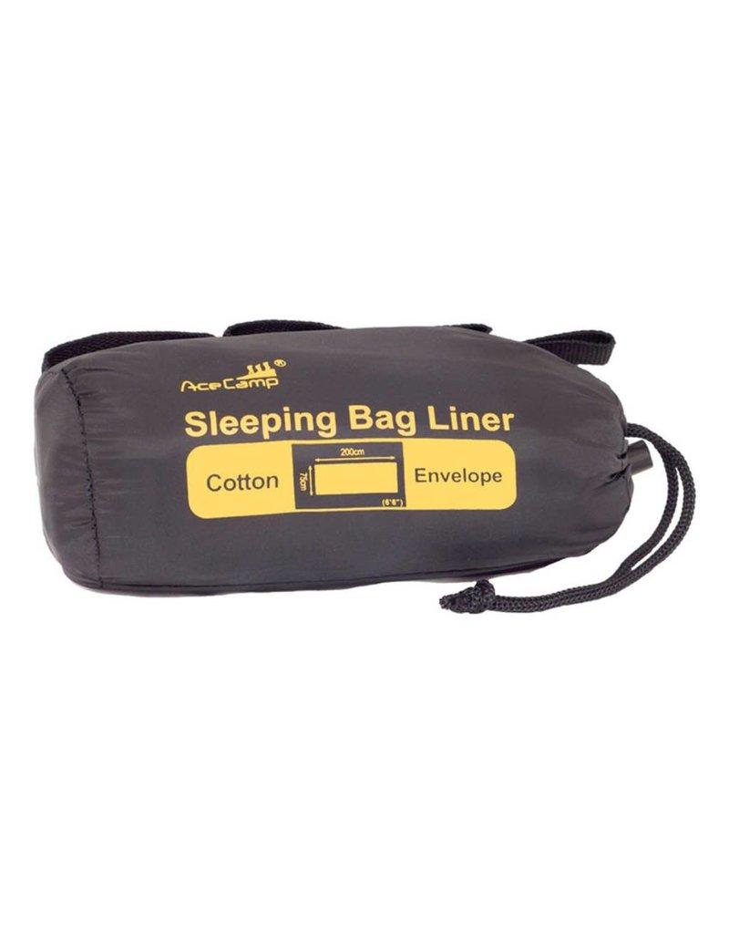 Ace Camp Ace Camp Cotton Rectangle Sleeping Bag Liner