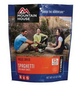 Mountain House Mountain House Spaghetti w/Meat Sauce Camping Meal