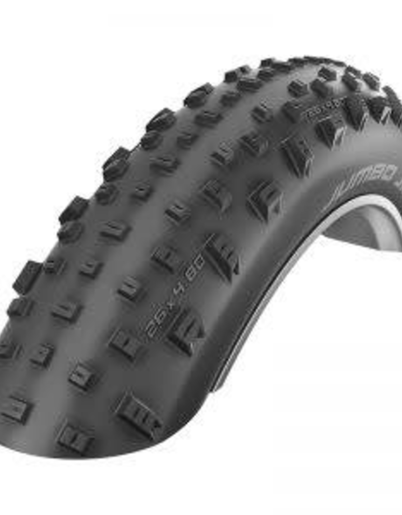 Schwalbe Schwalbe Jumbo Jim Snakeskin EVO Triple Star Compound TL-Easy Black Snakeskin 26x4.8 Folding Tire