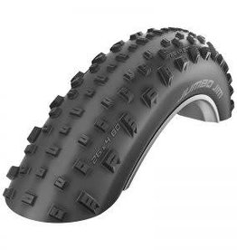 Schwalbe Schwalbe Jumbo Jim Snakeskin EVO Triple Star Compound TL-Easy Black Snakeskin 26x4.8 Folding Tire