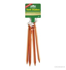 "Coghlan's Coghlan's Ultralight 9"" Tent Stakes (Qty 4)"