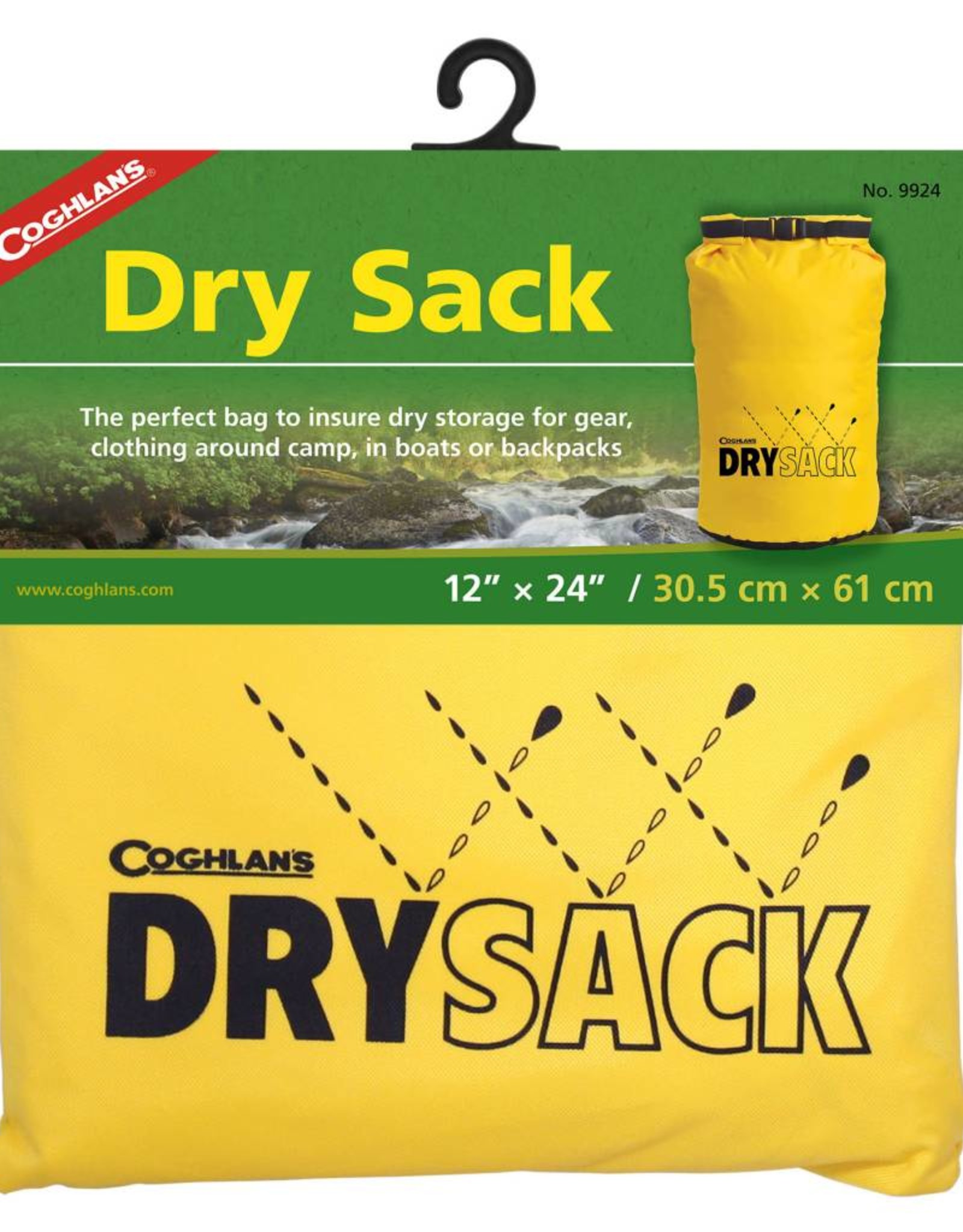 "Coghlan's Coghlan's 12"" x 24"" Roll Top Dry Sack"