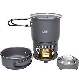 ESBIT Esbit Aluminum Alcohol Burner and Cookset