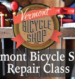 Vermont Bicycle Shop 2018 Bicycle Shop Repair Classes