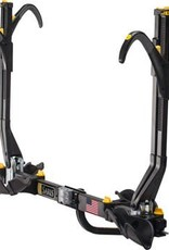 Saris Freedom SuperClamp Hitch Rack: 2 Bike, Universal Hitch, Black