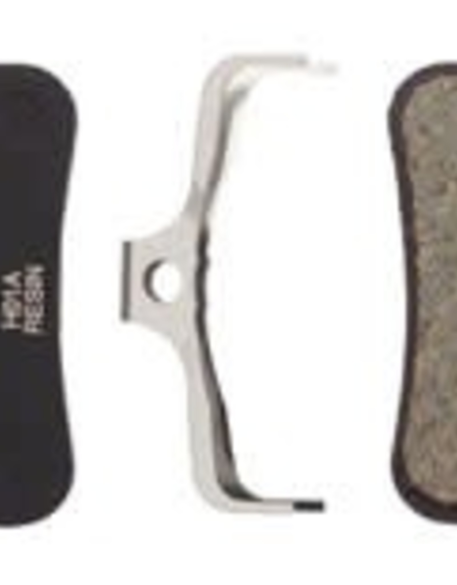 Shimano Shimano H01A Resin Disc Brake Pads and Spring with Fins for Saint BR- M820, Zee BR-M640 Calipers