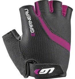 Louis Garneau Louis Garneau Biogel RX-V Women's Glove: Black/Fuscia Festival Pink LG