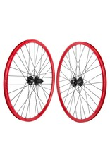 Mach 1 MX Disc 26x1.5 32 Spoke Red Wheelset
