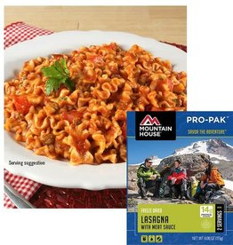 Mountain House Pro Pak Lasagna w/Meat Sauce Camping Meal