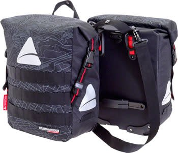 Axiom Axiom Monsoon Hydracore 45+ Panniers: Gray