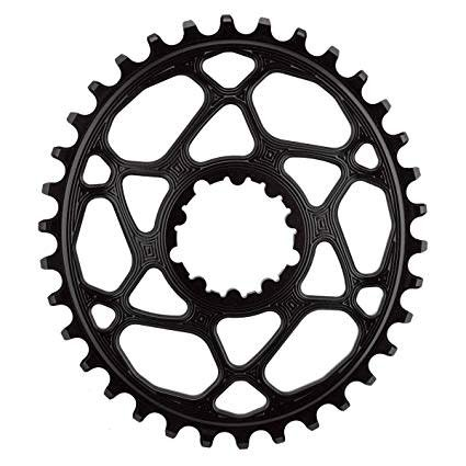 Absolute Black AbsoluteBlack Oval Direct Mount GXP 26T Black Chainring