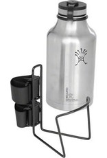 "TwoFish TwoFish Growler QuickCage 64oz Water Bottle Cage: 5.0"" outer diameter Bottles (No Bottle included) Vinyl Coated Black"