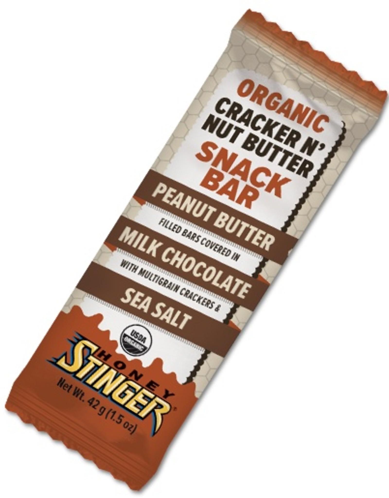Honey Stinger Peanut Butter Milk Chocolate Cracker N' Nut Butter Bar