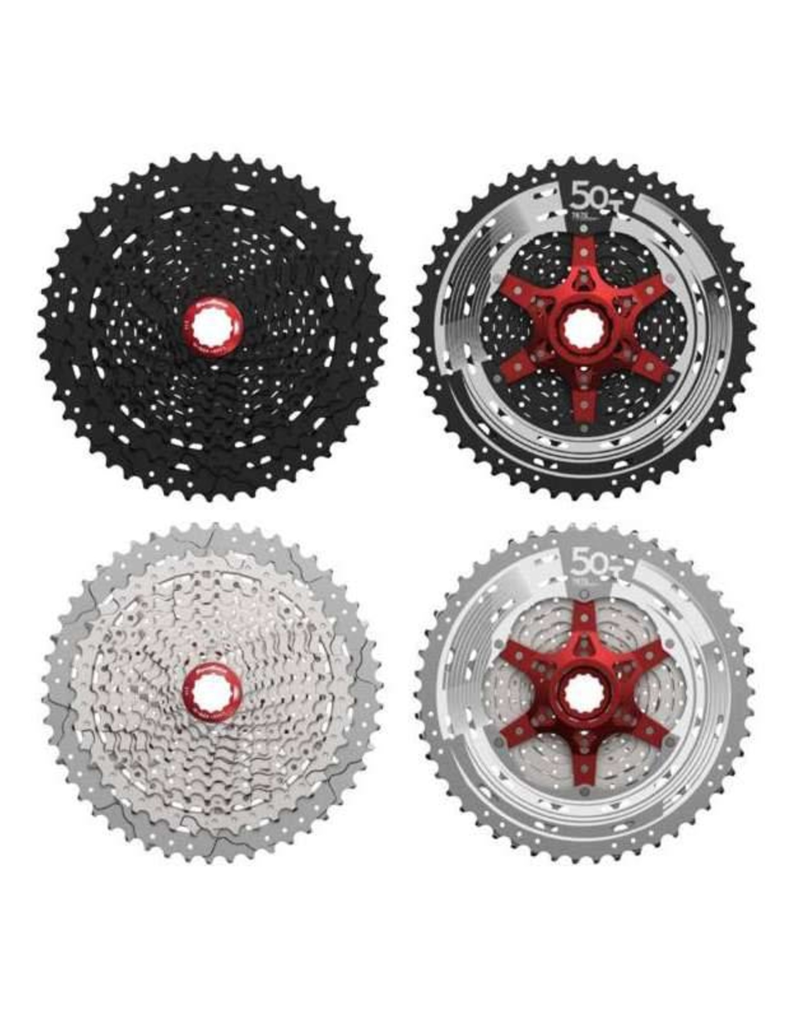 SunRace SunRace MX8 11-speed 11-50T Cassette: Black