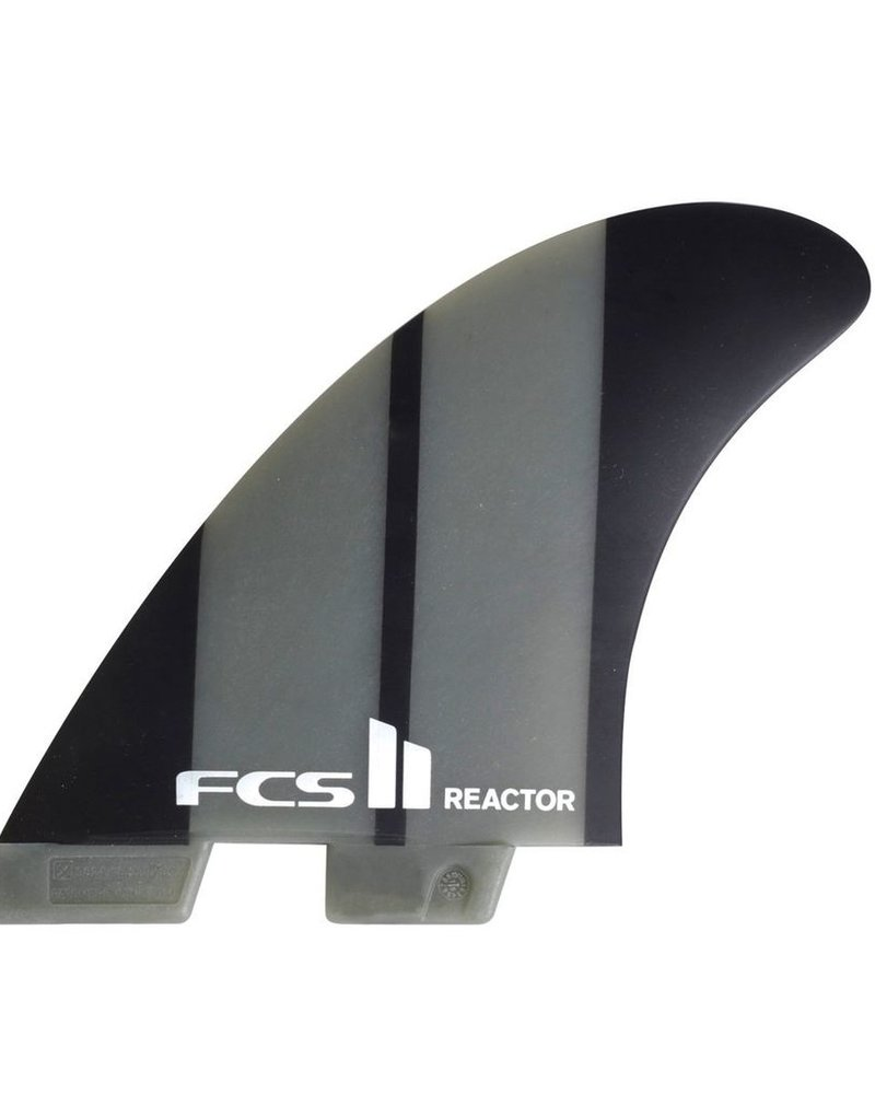 FCS FCS II REACTOR NEO GLASS CHARCOAL MEDIUM TRI FINS