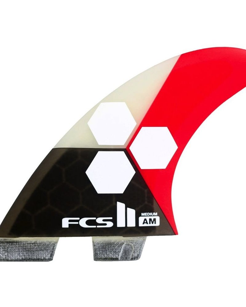 FCS FCS II AM PC MED FLAME TRI RETAIL FINS