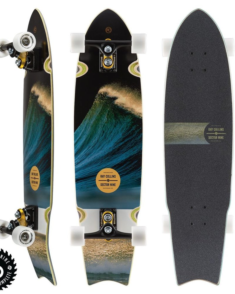 SECTOR 9 SECTOR 9 RAY COLLINS UNAGI COMPLETE 34.5'x8.75'