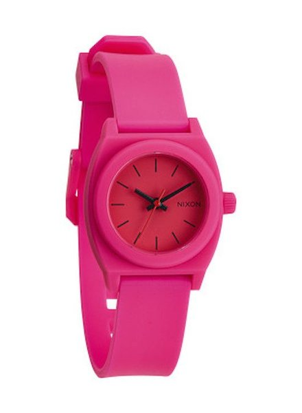 NIXON NIXON SMALL TIME TELLER P HOT PINK