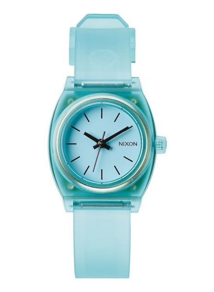 NIXON NIXON SMALL TIME TELLER P TRANSLUCENT MINT