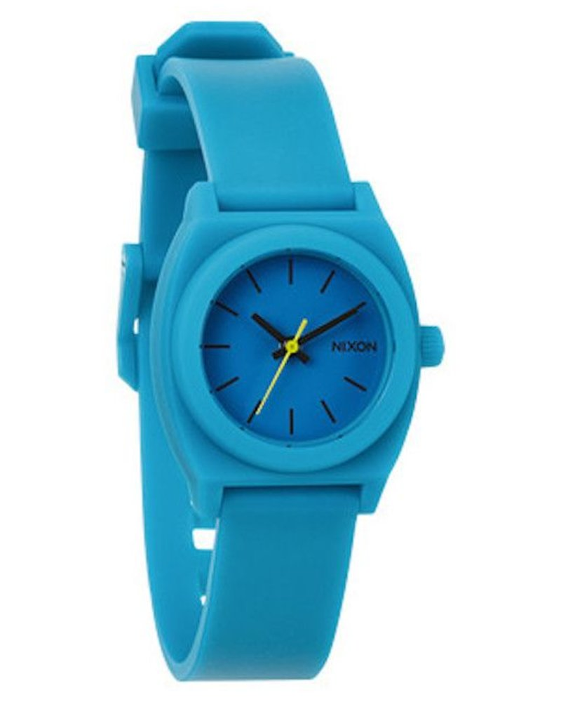 NIXON NIXON SMALL TIME TELLER P TEAL