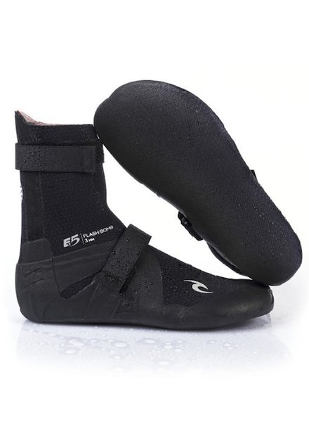 RIP CURL RIP CURL FLASHBOMB 5MM HIDDEN SPLIT TOE BOOTIES