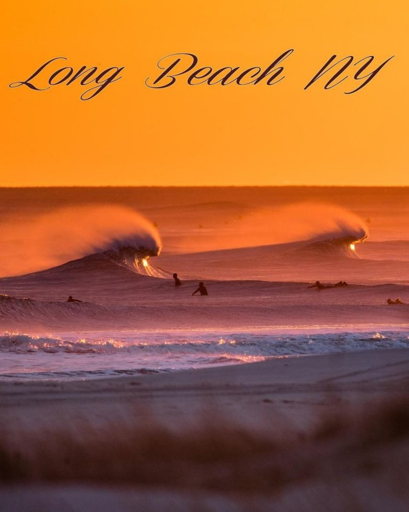 Unsound Surf Long Beach Sherpa Lined Photo Blanket