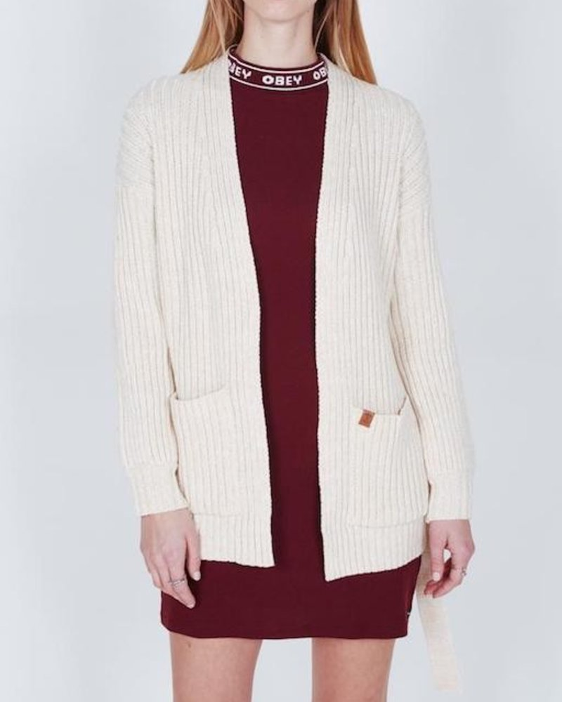 OBEY OBEY ELEANOR CARDIGAN