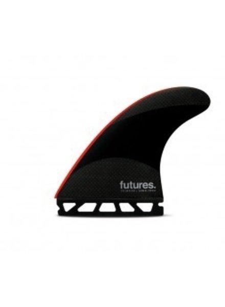 FUTURES FUTURES JJ-2 LARGE TECHFLEX TRUSTER BLK/RD