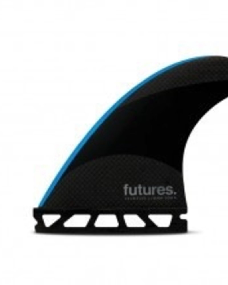 FUTURES FUTURES JJ-2 SMALL TECH FLEX THRUSTER BLK/NEON BLU