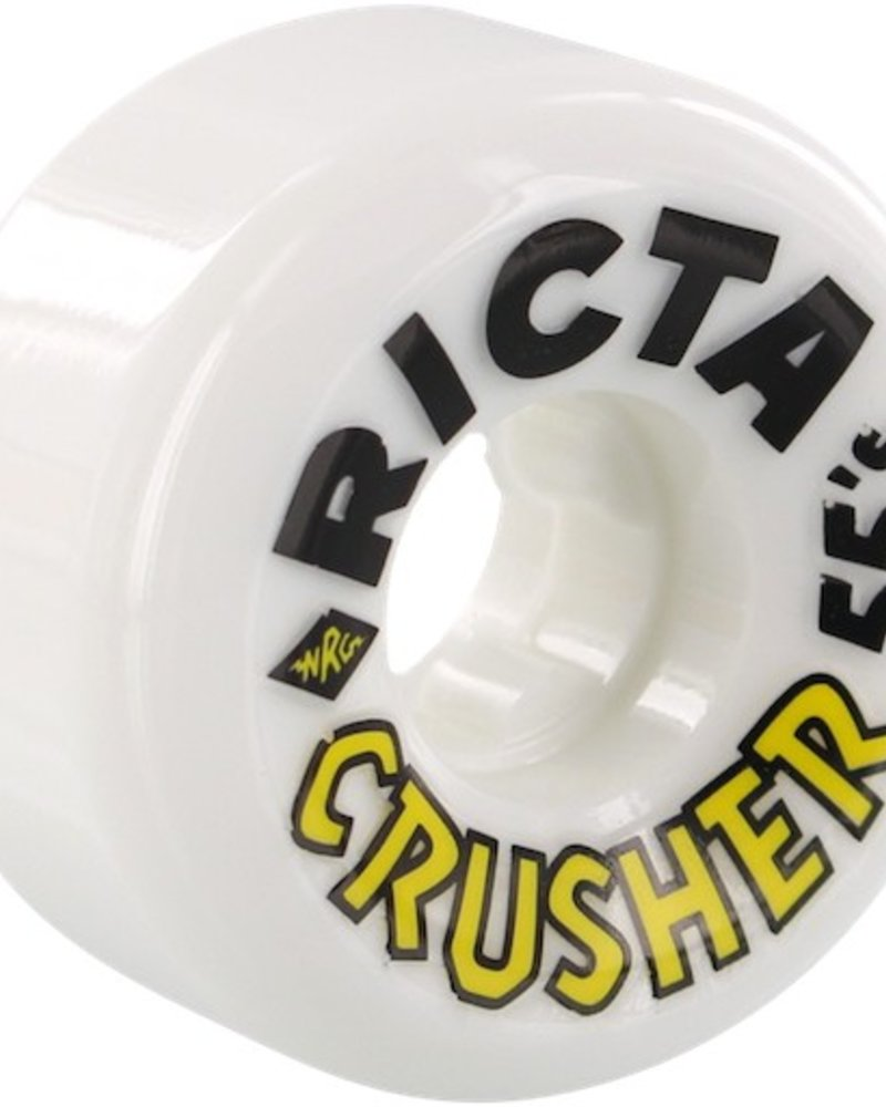 RICTA CRUSHERS 55MM 98A WHT/BLK/YEL