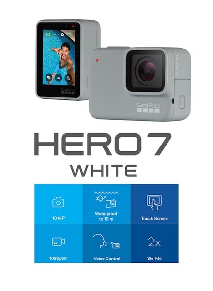 GOPRO GOPRO HERO7 WHITE