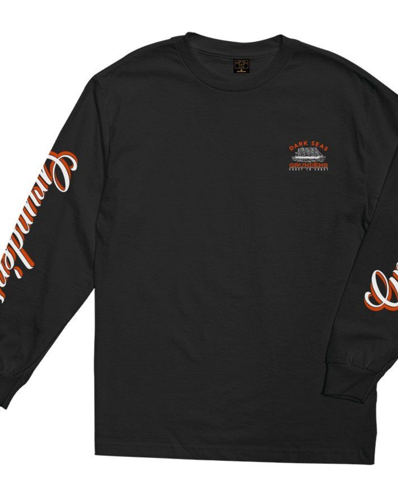 DARK SEAS DARK SEAS X GRUNDENS FIRST CLASS LS TEE