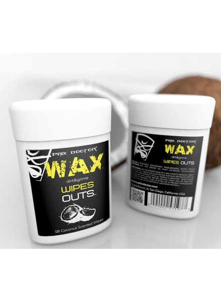 DING REPAIR PHIX DOCTOR WAX WIPES