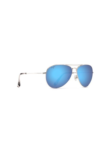 MAUI JIM MAUI JIM MAVERICKS SILVER BLU HAWAII