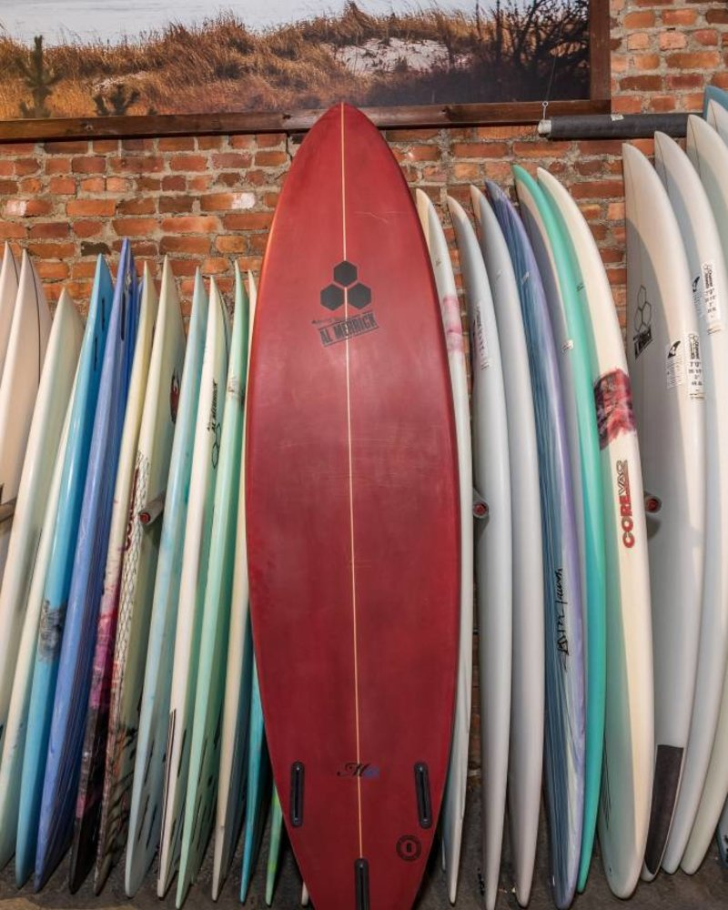 CHANNEL ISLANDS 7'2 CHANNEL ISLANDS M13     21X3   52L   FUTURES TRI